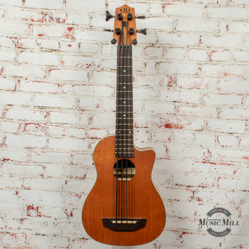 Kala Scout Acoustic/Electric U-Bass Satin Mahogany x0029