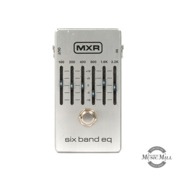 MXR 6 Band Graphic Equalizer Pedal (USED) x9868