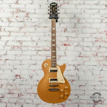 Epiphone Les Paul Classic Worn Electric Guitar Worn Metallic Gold (Factory Second) x6569