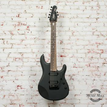 Sterling by Musicman JP70 John Petrucci Signature 7-String Electric Guitar Stealth Black (DEMO) x9153