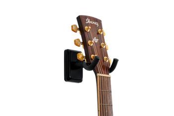 Gator Frameworks Black Wall Mount Guitar Hanger