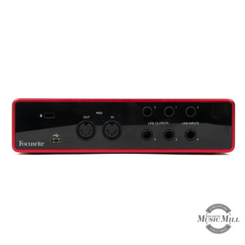 Focusrite Scarlett 4i4 Recording Interface x9f97 (USED)