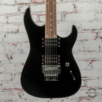 Grover Jackson DJ2 Shredder FR Electric Guitar, Gloss Jet Black x0226 (USED)
