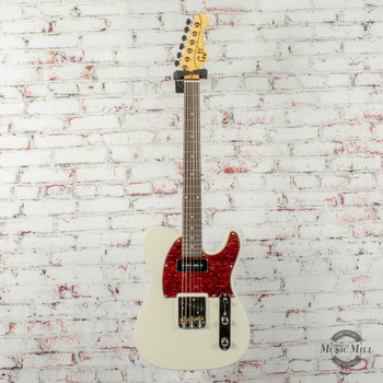 Grover Jackson GJ2 Hellhound Electric Guitar White x0220(USED)