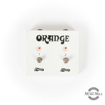 Orange 2-Button Footswitch (USED) x9227