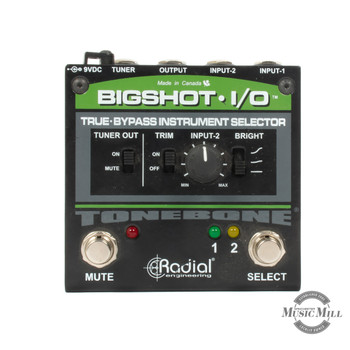 Radial Bigshot I/O Instrument Selector Pedal (USED) x0048