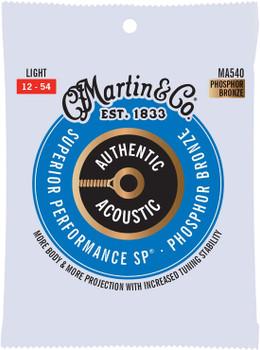 Martin MA540 SP Light .012-.054 Acoustic Guitar Strings