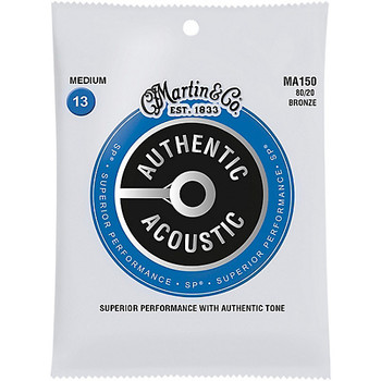 Martin Authentic Acoustic SP MA150 Medium 013-.056 Acoustic Guitar Strings