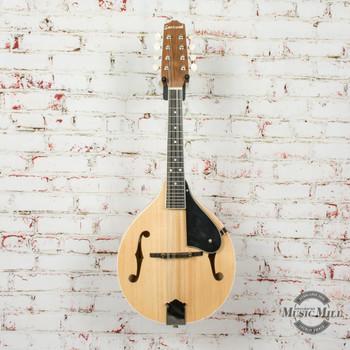 Savannah Flamed A-Model Mandolin-Natural AS-IS x7393 (USED)