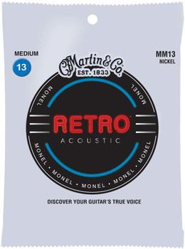 Martin MM13 Retro® Acoustic Guitar Strings Medium .013-.056