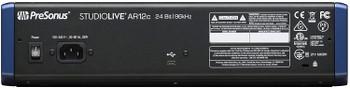 PreSonus StudioLive AR12c 14-Channel USB-C Hybrid Digital/Analog Performance Mixer, Unpowered