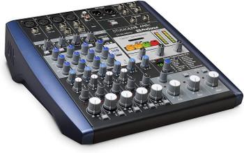 PreSonus StudioLive AR8c 8-Channel USB-C Hybrid Digital/Analog Performance Mixer, Unpowered