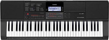 Casio CT-X700 61-Key Portable Keyboard, Black