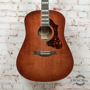 Godin Metropolis EQ Limited Acoustic Electric Guitar - Havana Burst x0051 (USED)
