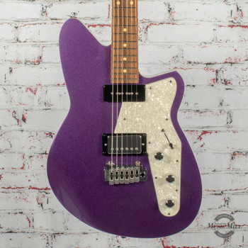 Reverend Double Agent W Electric Guitar Italian Purple x2595
