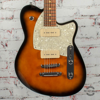 Reverend Charger 290 Electric Guitar Coffee Burst x2658