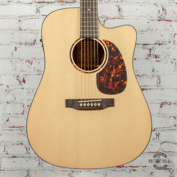 Recording King RD-G6 Dreadnought Cutaway Acoustic/Electric Guitar Natural x0329