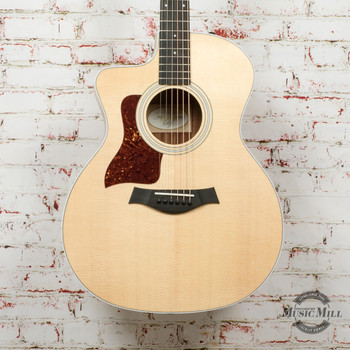 Taylor 214ce-K Left-Handed Acoustic-Electric Guitar Natural x0344