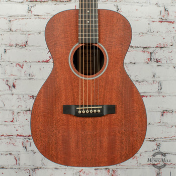 Martin 0-X1E Acoustic Electric Guitar - Mahogany w/Bag x2608