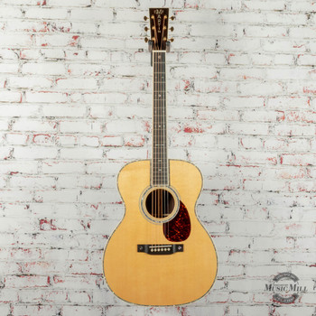 Martin Standard Series OM-42 Orchestra Model Acoustic/Electric Guitar Natural x2102