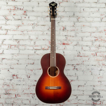 Recording King Series 11 Single 0 Acoustic/Electric Guitar Satin Tobacco Sunburst x0345