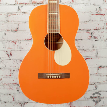 Recording King Dirty 30's Series 7 Single 0 RPS-7 Acoustic Guitar Monarch Orange x8694