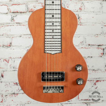 Recording King Lap Steel P-90 Natural Mahogany x0341