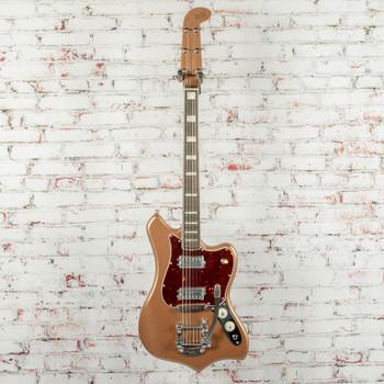 Fender B-Stock Parallel Universe Volume II Maverick Dorado Electric Guitar, Ebony Fingerboard, US203294