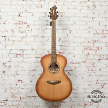 Breedlove Signature Concert E Torrefied European Spruce/African Mahogany Acoustic/Electric Guitar Copper Burst x0549