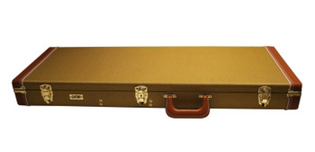 Gator Electric Guitar Deluxe Wood Case, Tweed