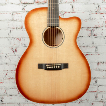 Martin Custom Shop OM Acoustic Electric Guitar Deep Quilted Maple x0896