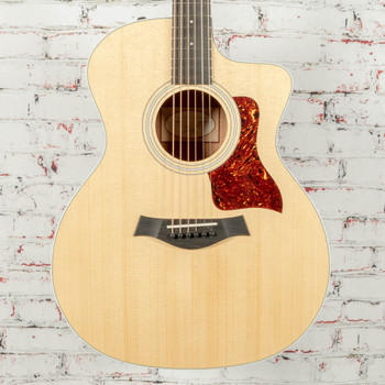 Taylor 214ce-K Koa Grand Auditorium Acoustic/Electric Guitar Natural x0325