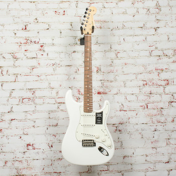 Fender Player Stratocaster® Electric Guitar Polar White x0977
