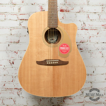 Fender Redondo Player Acoustic Guitar Natural x8992
