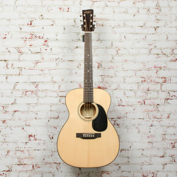 Recording King Tonewood Reserve Series RO-318 All-Solid 000 Acoustic Guitar Natural x0547
