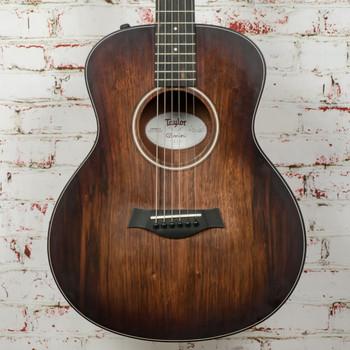 Taylor GS Mini E Koa Plus Acoustic/Electric Guitar Natural (USED) x0173