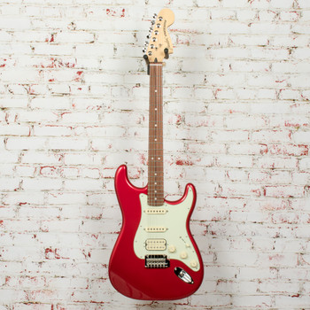 Fender Deluxe Strat HSS Electric Guitar Candy Apple Red x8870