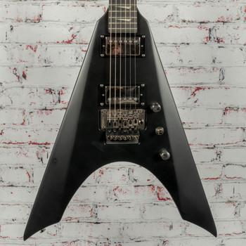 Kramer Nite V Electric Guitar Satin Black (Factory Second) x2774