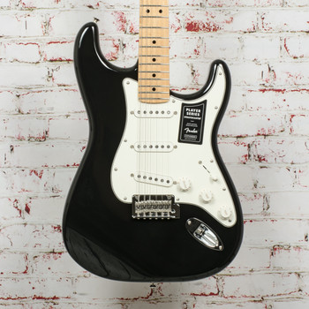 Fender Player Stratocaster Electric Guitar Black x4752