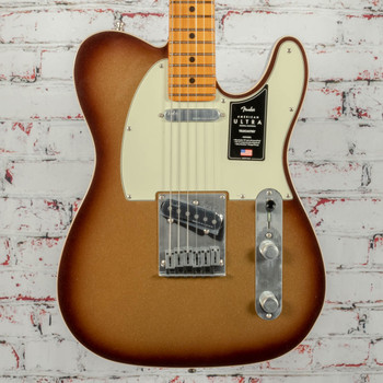Fender American Ultra Telecaster Electric Guitar Mocha Burst x0423