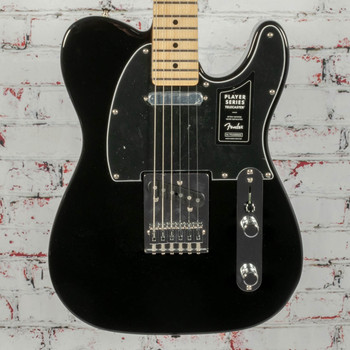 Fender Player Telecaster® Electric Guitar, Maple Fingerboard, Black x0047