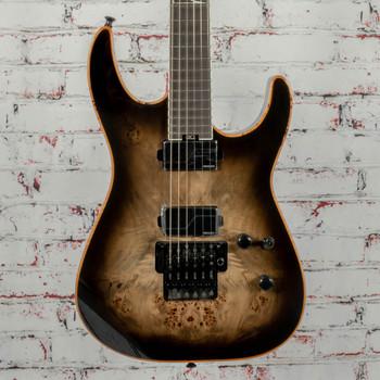 Jackson Limited Edition Wildcard Series Soloist SL2P Electric Guitar Transparent Black Burst x1590