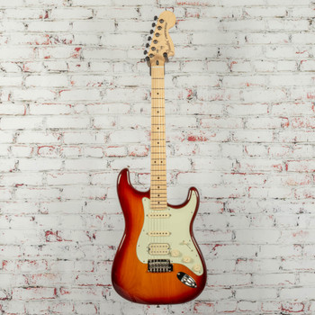 Fender Deluxe Strat HSS Electric Guitar Tobacco Sunburst x3825