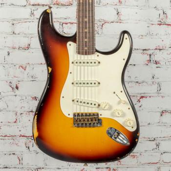Fender Custom Shop S19 LTD '59 Strat 3-Color Sunburst Relic x0282