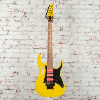Ibanez JEMJRSPYE Steve Vai Signature Electric Guitar Yellow x1496