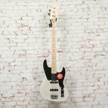 Squier Paranormal Jazz Bass® '54 Electric Bass, Maple Fingerboard, White Blonde x5341