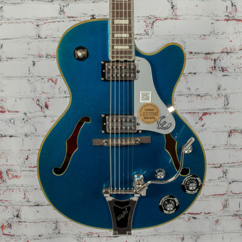 Epiphone Limited Edition Emperor Swingster Royale Blue NOS x 0090