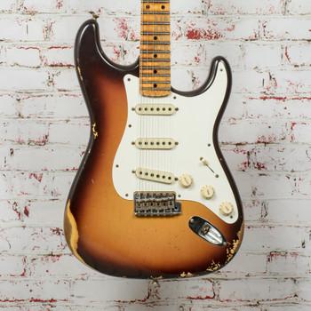 Fender Custom Shop Winter 2020 Limited 59 Strat Heavy Relic Electric Guitar Faded Sunburst (MINT) x6007