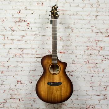 Breedlove Limited Edition Oregon Concert Tiger's Eye CE Acoustic/Electric Guitar All Myrtlewood x6007