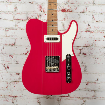 Reverend Greg Koch Signature Gristlemaster Electric Guitar Trans Wow Red x3580